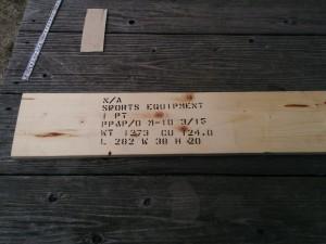 カントリーチックな木箱002