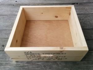 カントリーチックな木箱014