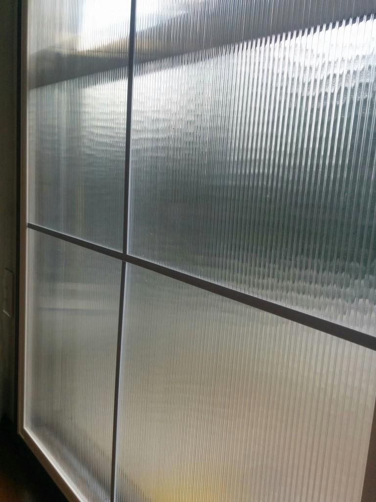 パネルフレームで作れる二重窓は1847mmまで!それ以上は・・・