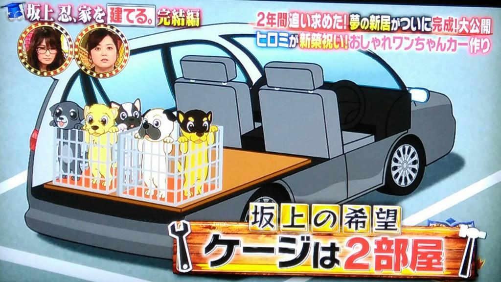 【有吉ゼミ】八王子リフォーム坂上忍の車に犬用のケージを作る