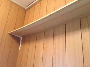 トイレの天井をクリアトーンに001