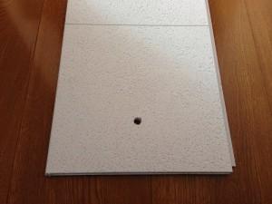 トイレの天井をクリアトーンに013