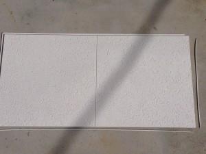 トイレの天井をクリアトーンに010