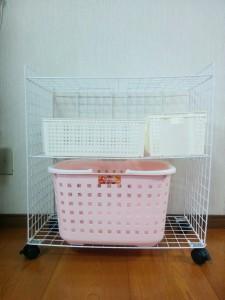 かんたん洗濯ラックdiy010