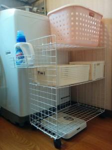 かんたん洗濯ラックdiy012