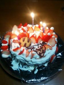 2016年バースデーケーキ