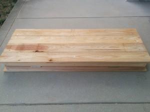 手作り折りたたみテーブル作り方007