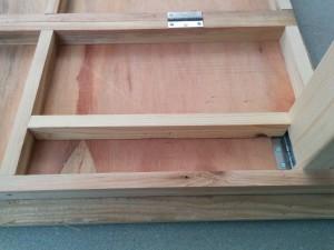 手作り折りたたみテーブル作り方016
