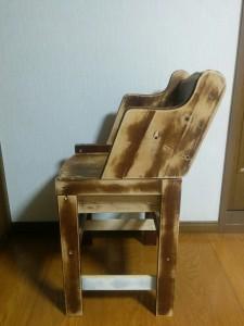 ハイチェアをこども用の椅子にリメイク015