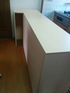 キッチンカウンターDIY013