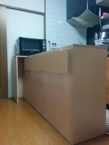 キッチンカウンターDIY018