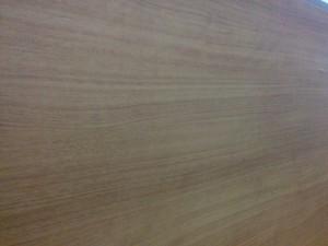 キッチンカウンターに木目調テープと壁紙011