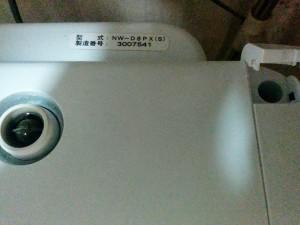 洗濯槽の落ちない匂いを撃退005