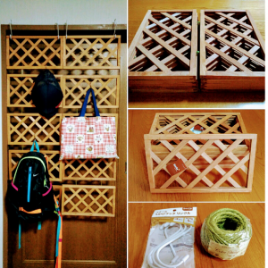 Ceria Wooden Trellis Easy to carry wall partition