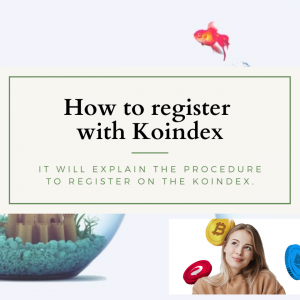 How to register with Koindex on your smartphone & set up 2-Step Authentication verification