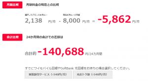 ワイモバイル料金シュミレーション005
