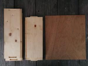 カントリーチックな木箱007