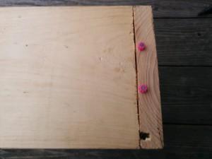 カントリーチックな木箱011