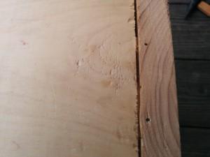 カントリーチックな木箱012