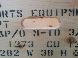 カントリーチックな木箱010