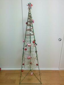 クリスマスツリーDIY011