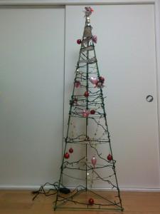 クリスマスツリーDIY012