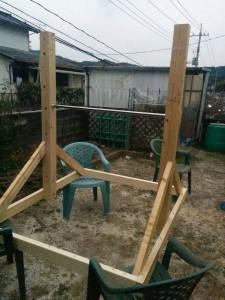 鉄棒の作り方012