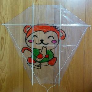 変形六角形凧の作り方013