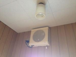 トイレの天井をクリアトーンに017