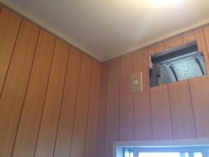 トイレの天井をクリアトーンに003
