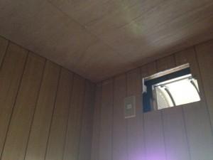 トイレの天井をクリアトーンに009