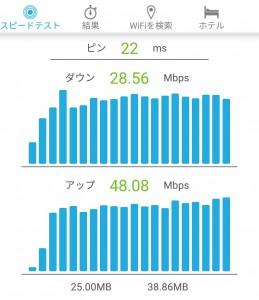 Nexus5 v6プラスの通信速度001