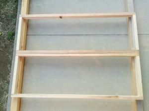 手作り折りたたみテーブル作り方002