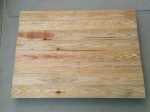 手作り折りたたみテーブル作り方005