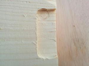 手作り折りたたみテーブル作り方009