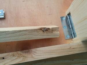 手作り折りたたみテーブル作り方015