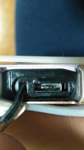 充電器差込口の故障