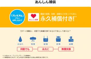 softbank Air あんしん補償