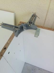 IKEAのダブルベッドをパソコンデスクにリメイク005