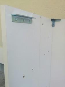IKEAのダブルベッドをパソコンデスクにリメイク007