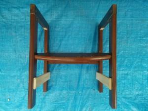 ハイチェアをこども用の椅子にリメイク009