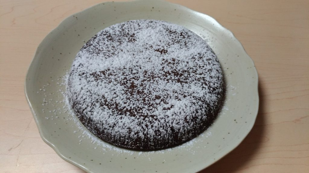 ガトーショコラ!混ぜてピッとする炊飯器かんたんレシピ