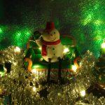LEDライト手作りジオラマ!DAISO 【スノーマン&サンタ】クリスマスDIY