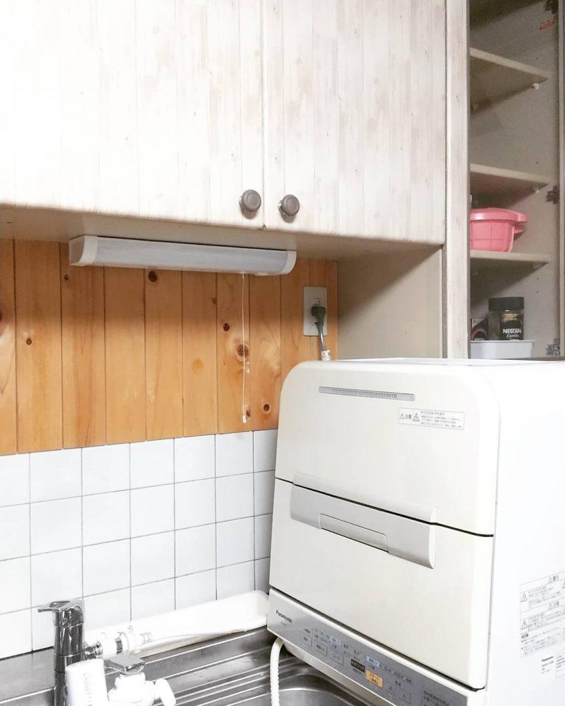 3年も寝かせた(笑)食洗機!我が家のキッチンで活躍する